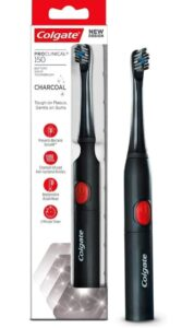 Colgate ProClinical 150 Charcoal Sonic Battery Powered Electric Toothbrush